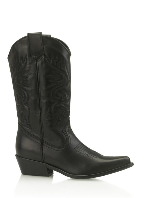 High Texas Boots Black