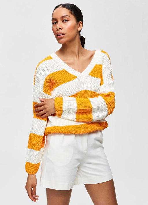 Bandani Knit Radiant Yellow