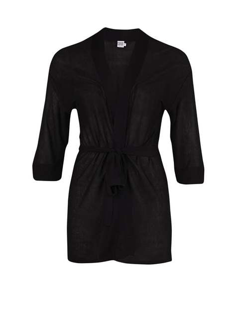 Basic Cardigan Black R2580