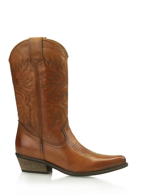 High Texas Boots Cognac