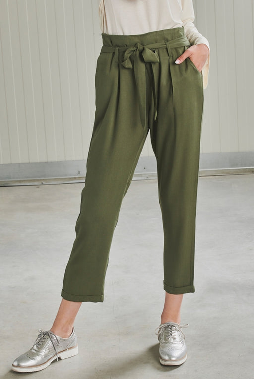 60356 Olive Trouser
