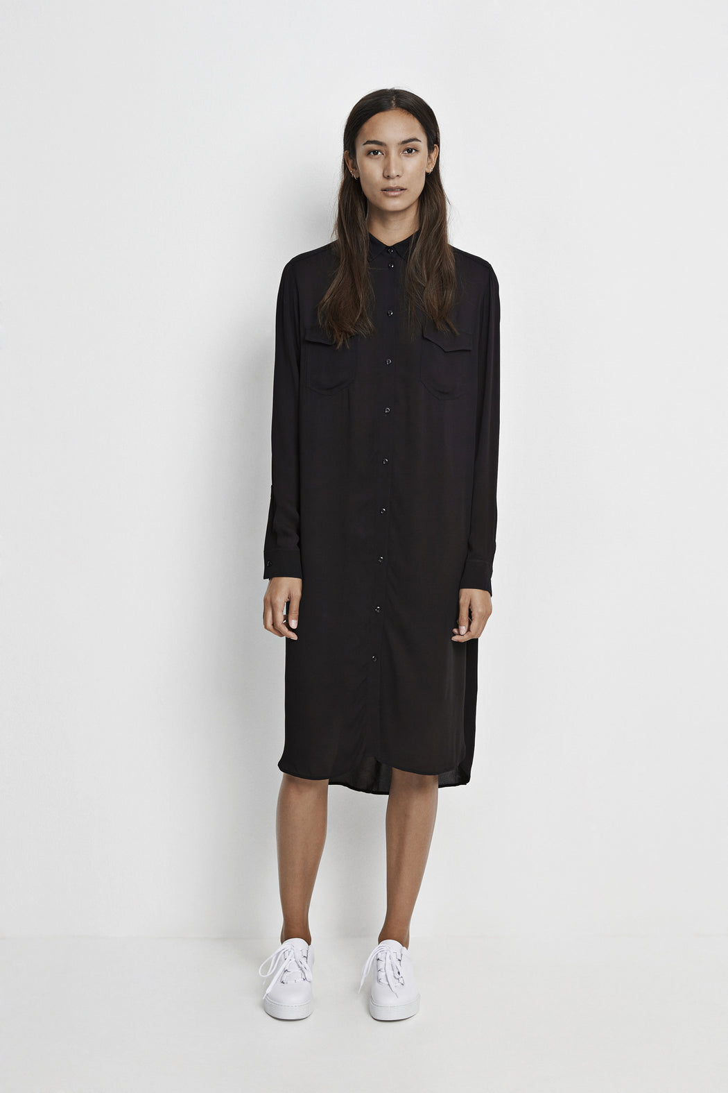Bancroft Shirt Dress Black