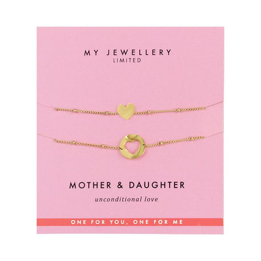 Mother & Daughter Bracelet - Gold