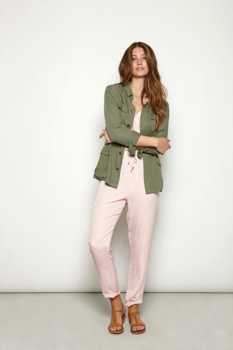 Cally Jacket Dusty Olive