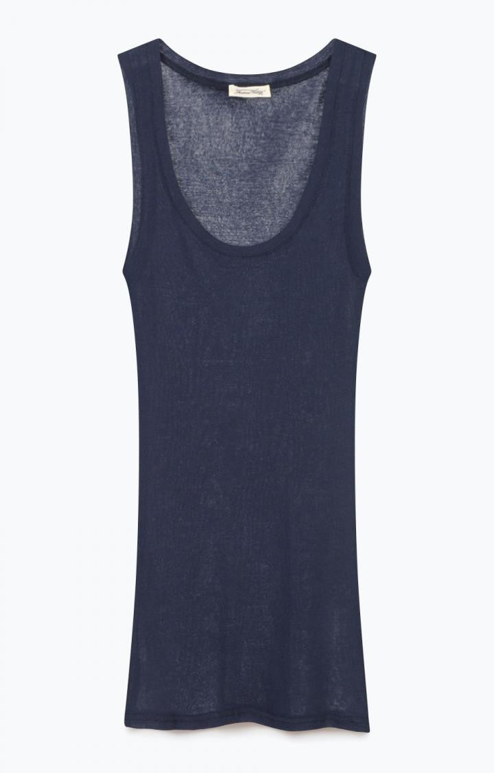 Massachusetts Tank Top Navy