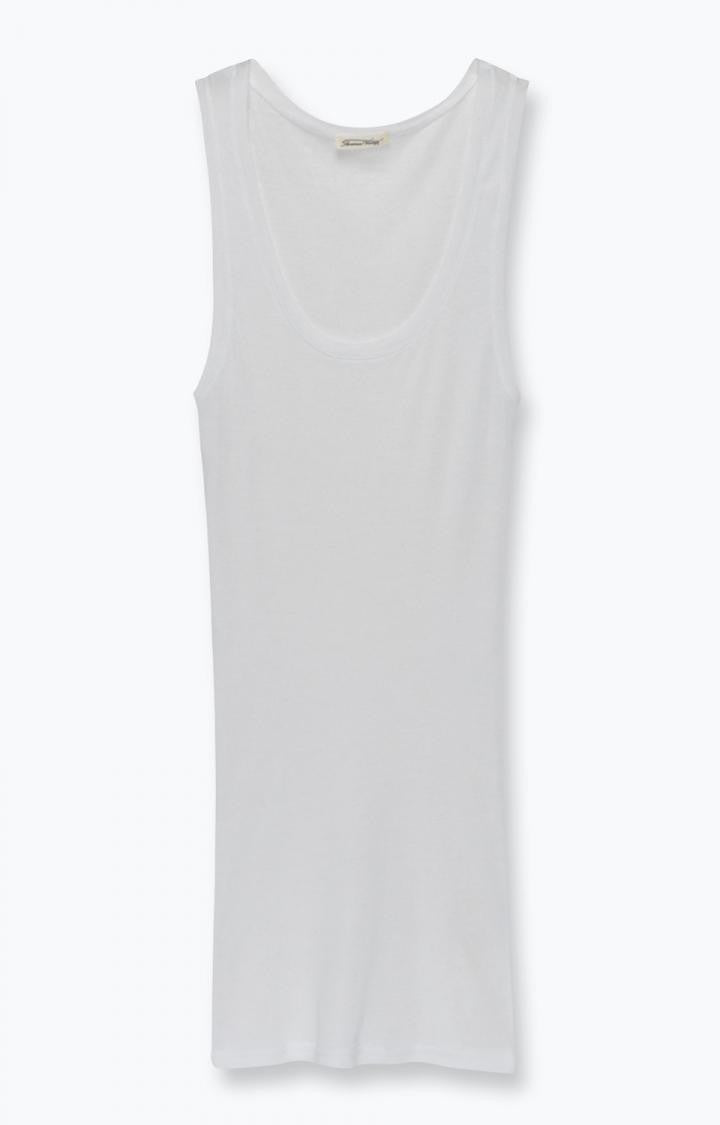 Massachusetts Tank Top White
