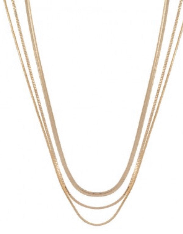 Rebel Necklace Gold