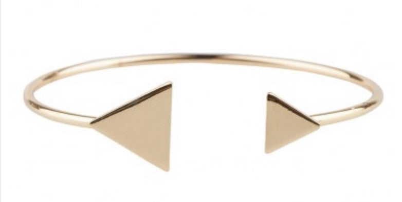 Triangle Cuff Gold
