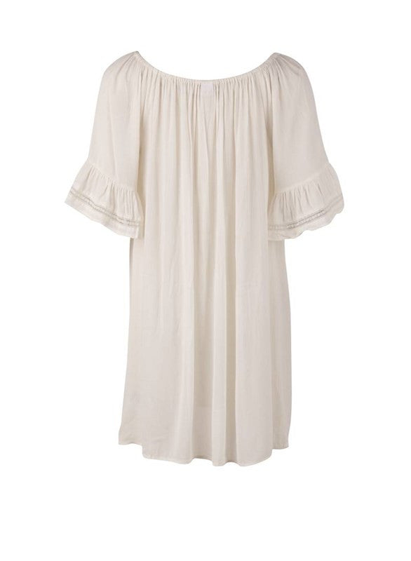 Tunic/Dress With Draw Strings