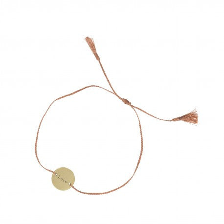 Amy Coin Thread Bracelet Love