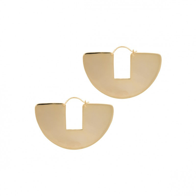 Eclipse Earring Goldplated
