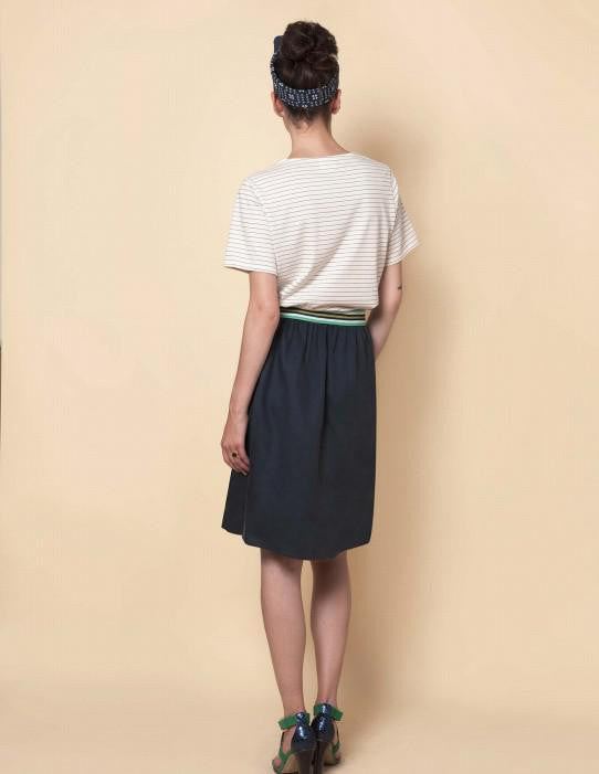 Good Mood Skirt Grey