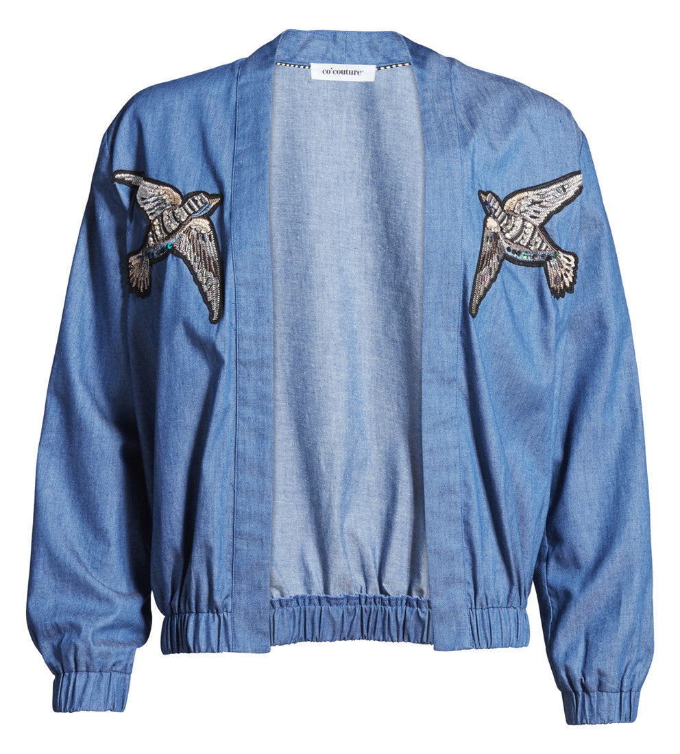 Sky Bomber Used Denim