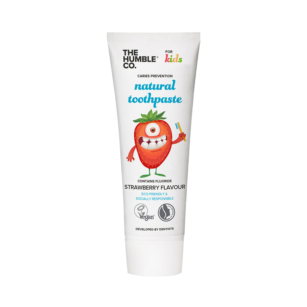 The Humble Co Toothpaste Kids (Strawberry) 75 ml