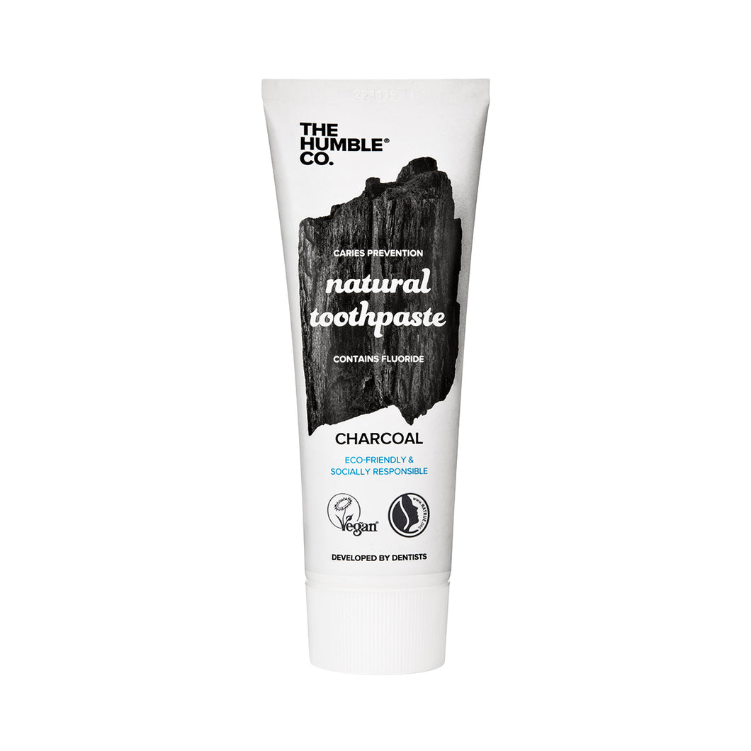 The Humble Co Toothpaste (Charcoal) 75 ml