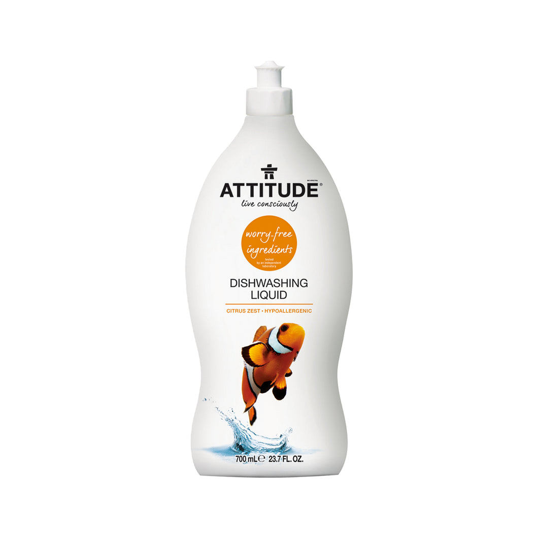 Attitude Dishwashing Liquid (Citrus Zest) 700 ml