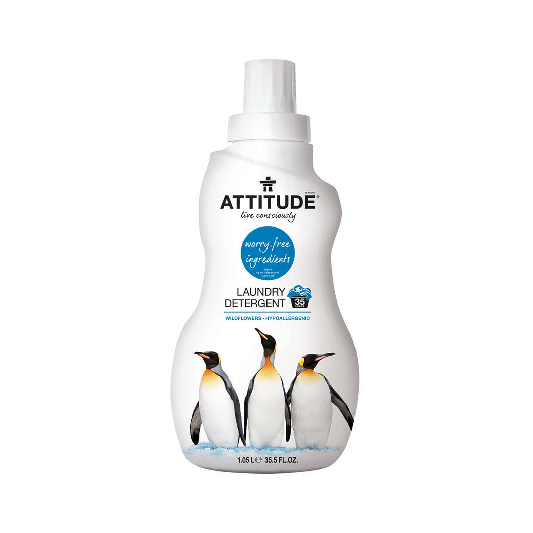Attitude Laundry Detergent (Wildflowers) 1.05 L