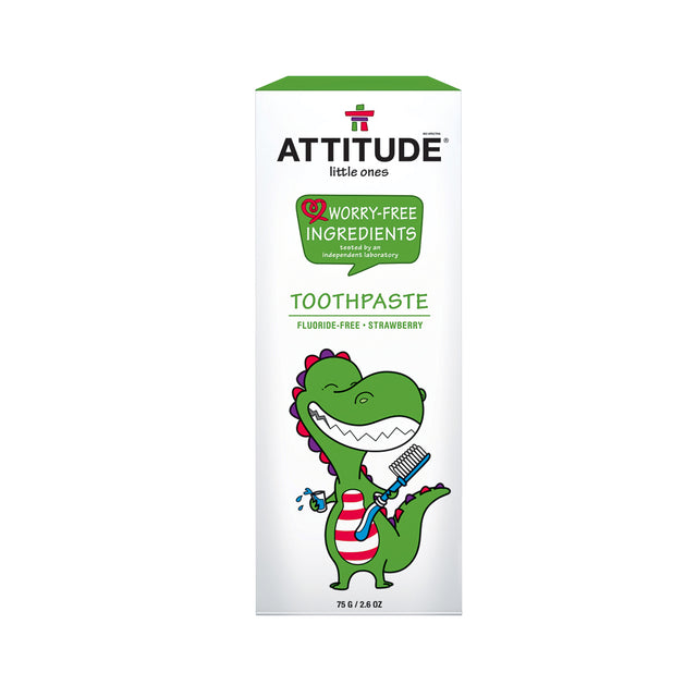Attitude Toothpaste - Baby (Strawberry) 75 gr