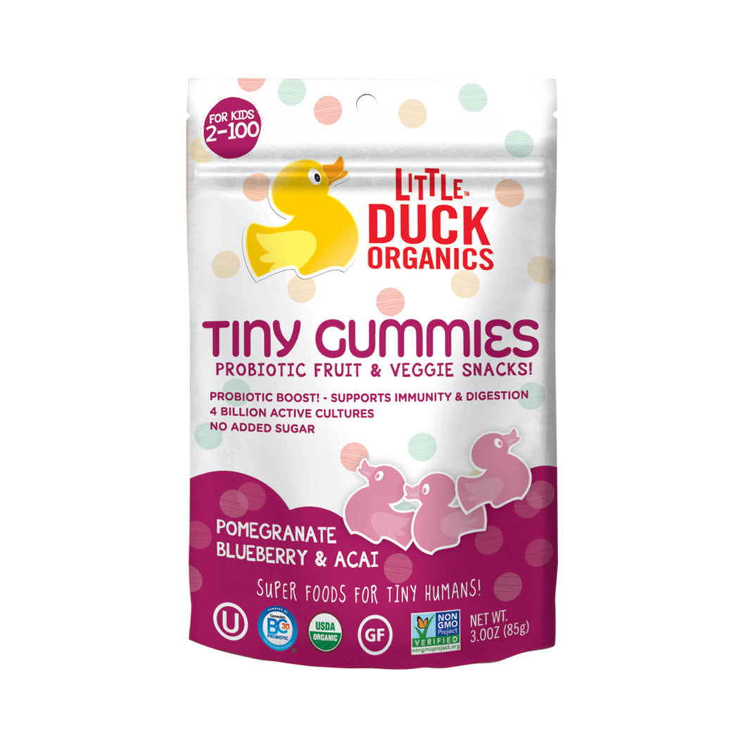 Little Duck Organics Tiny Gummies (Pomegranate, Blueberry & Acai) 85 gr