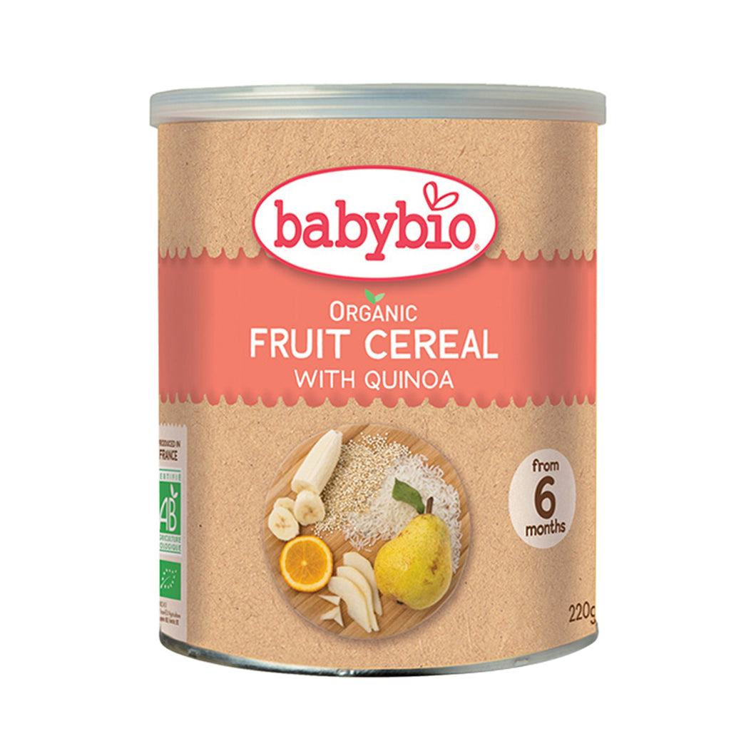 Babybio Cereal with Quinoa (3 Fruit) 2-Pack 2 x 220 gr