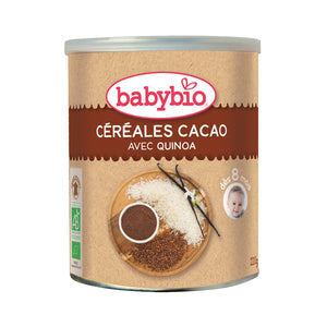 Babybio Cereal with Quinoa (Cocoa) 220 gr
