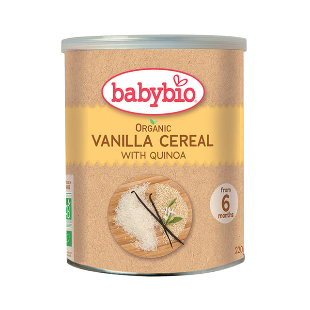 Babybio Cereal with Quinoa (Vanilla) 220 gr