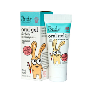 Buds Organics Oral Gel for Teeth & Gums - Baby 30 ml