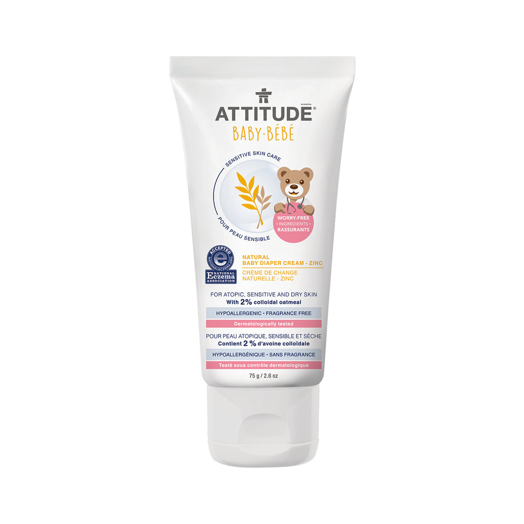 Attitude Diaper Cream (Fragrance-free) 75 gr
