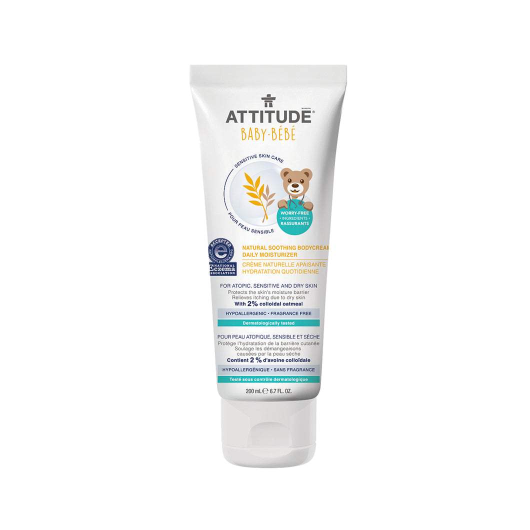Attitude Soothing Body Cream - Baby (Fragrance-free) 200 ml