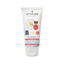 Attitude 100% Mineral Sunscreen SPF 30 - Kids (Fragrance-free) 75 gr