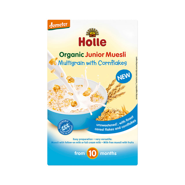 Holle Muesli Multigrain with Cornflakes 250 gr