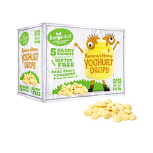 Kiwigarden Yogurt Drops (Banana Honey) 5 x 9 gr