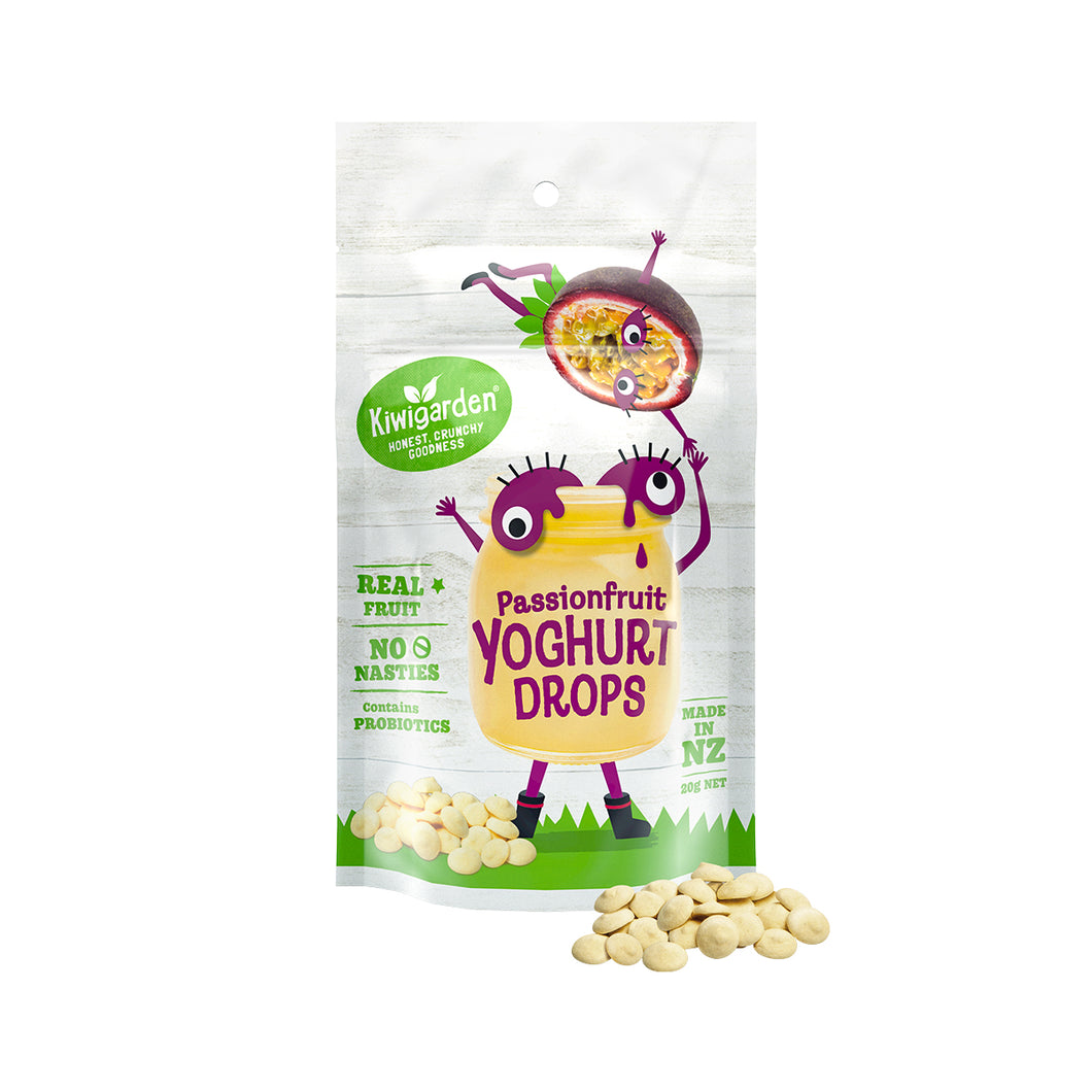 Kiwigarden Yogurt Drops (Passionfruit) 20 gr