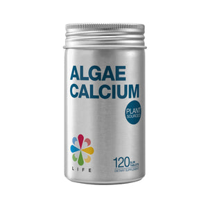 Life Nutrition Algae Calcium 120 tablets