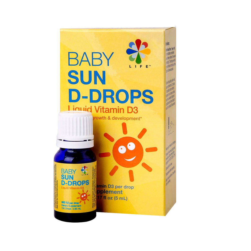 Life Nutrition Sun D-Drops - Baby 4.95 ml