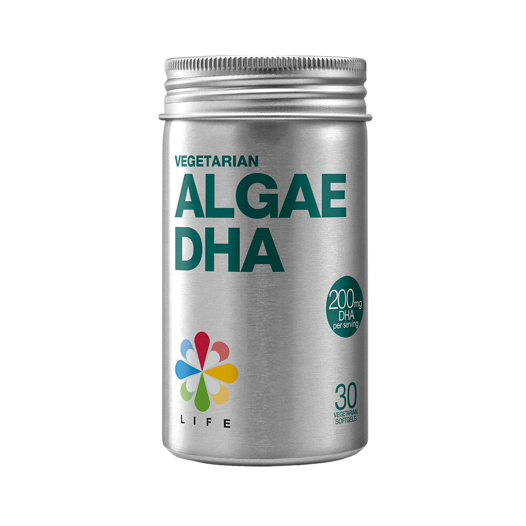 Life Nutrition Vegetarian Algae DHA 30 softgels