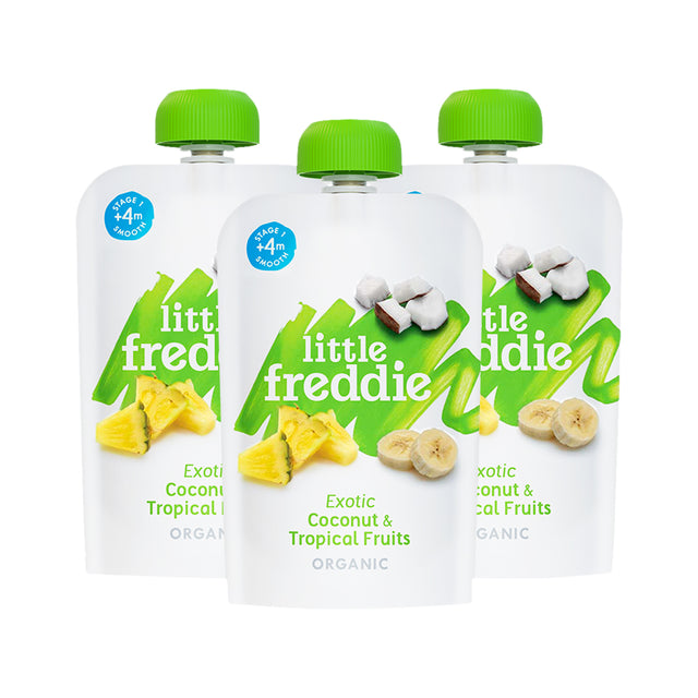 Coconut & Tropical Fruits Pouch