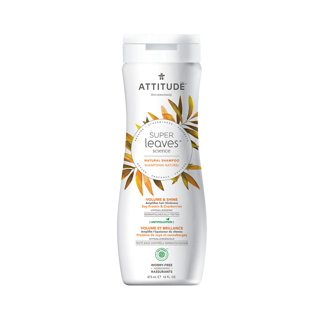 Attitude Super Leaves Shampoo (Volume & Shine) 473 ml
