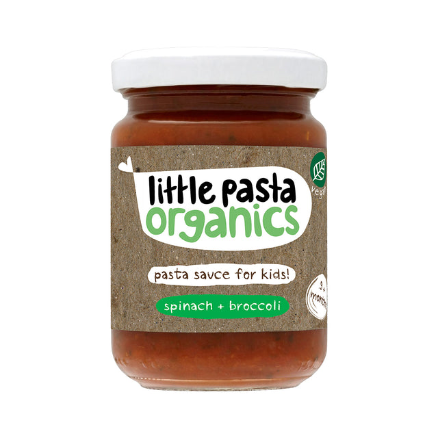 Little Pasta Organics Pasta Sauce (Broccoli & Spinach) 130 gr