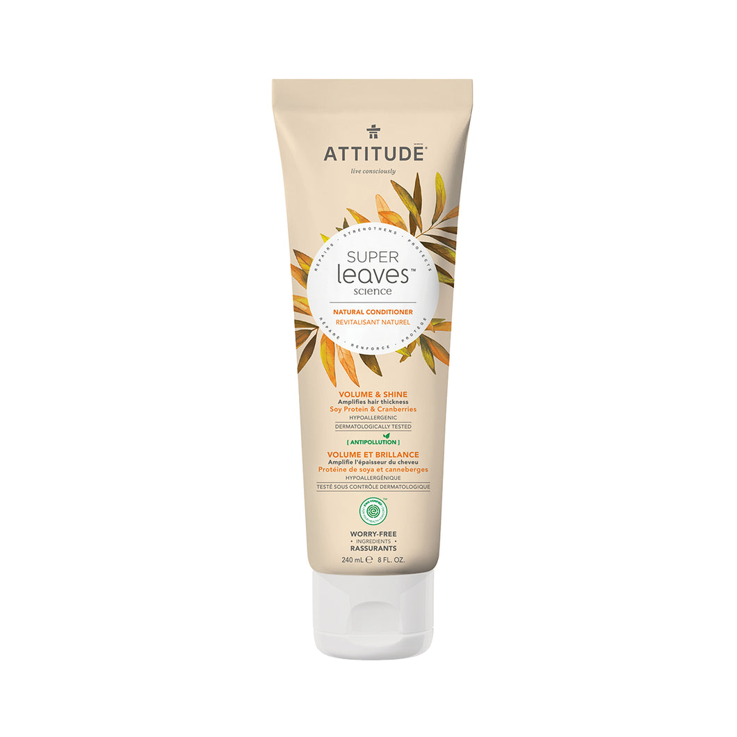 Attitude Super Leaves Conditioner (Volume & Shine) 240 ml