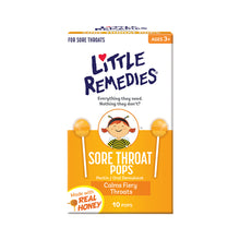 Little Remedies Sore Throat Pops 10 pops