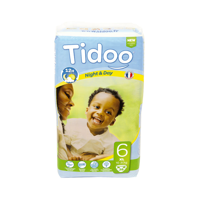 Tidoo Night and Day Baby Diapers