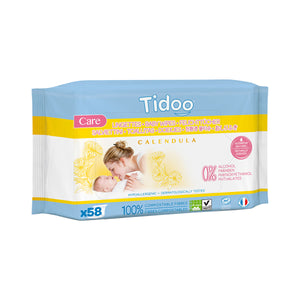 Tidoo Calendula Wipes - Baby (White Lily) | JUNE