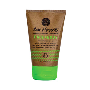 Raw Elements Face and Body Sunscreen Tube