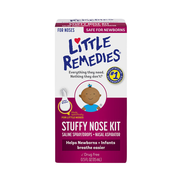 Little Remedies Stuffy Nose Kit 15 ml
