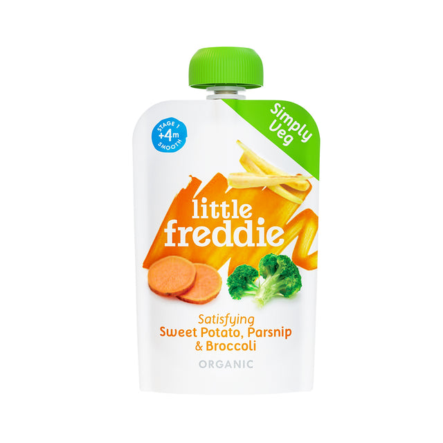 Little Freddie Sweet Potato, Parsnip and Broccoli Pouch