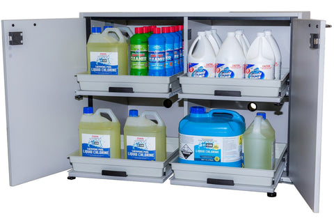 Acids and alkalis safety storage cabinet, 100L