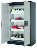 Fire rated flammables safety storage cabinet, 250L capacity Australia