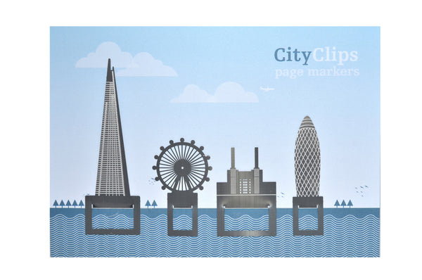 Another Studio: City Clips - London Skyline Bookmark Set