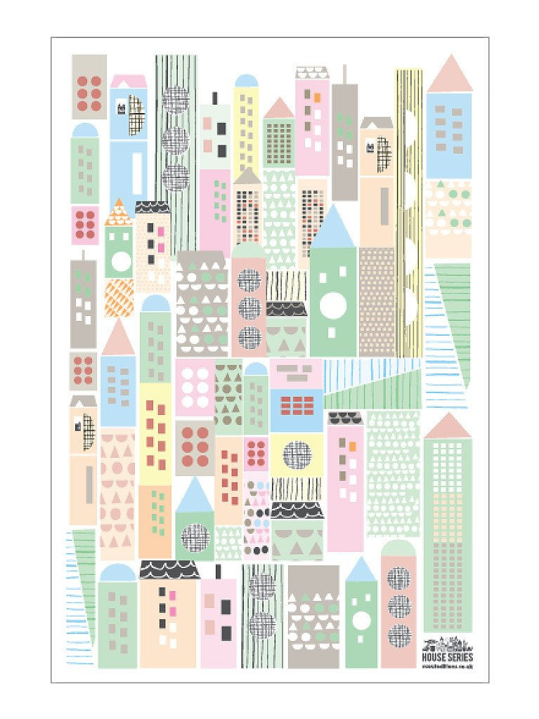 Scout Editions: Cityscape Tea Towel